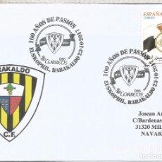 Francobolli: BARAKALDO VIZCAYA MAT100 AÑOS FUTBOL FOOTBALL . Lote 126084138