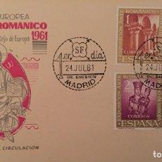Sellos: SPD EXPISICION EUROPEA DE ARTE ROMÁNICO 1961. Lote 105766571