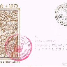 Sellos: AÑO 1975, EXPOSICION MUNDIAL ESPAÑA 75, FRANQUICIA DEL SERVICIO FILATELICO DE CORREROS. Lote 106223375