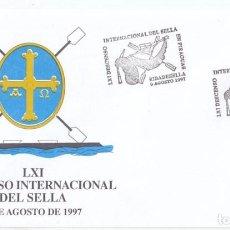 Sellos: SOBRE CON MATASELLOS ESPECIAL DEL DESCENSO INTERNACIONAL DEL SELLA. RIBADESELLA. ASTURIAS. 1997. Lote 106617787
