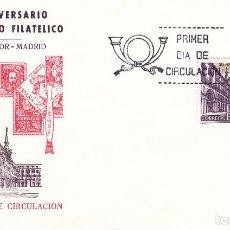 Briefmarken - SOBRE: 1977 MADRID. 50 ANIVERSARIO MERCADO FILATELICO - PLAZA MAYOR - 108344995
