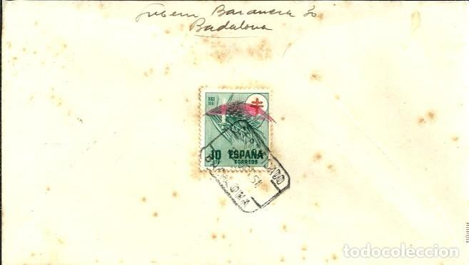 Sellos: SOBRE PRIMER DÍA - V CENTENARIO DE ISABEL LA CATÓLICA - VALLADOLID - 1951 - Foto 2 - 127787158