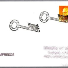 Sellos: MATASELLOS EXP.FIL AZAFT - FERROCARRIL. CANFRANC, HUESCA, 1993. Lote 109455891