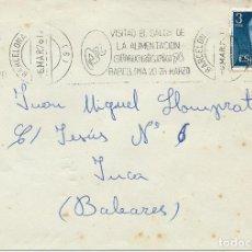Sellos: 1976. BARCELONA. RODILLO/SLOGAN. VISITAD EL SALÓN DE LA ALIMENTACIÓN-ALIMENTARIA'76. FOOD FAIR.. Lote 111383095