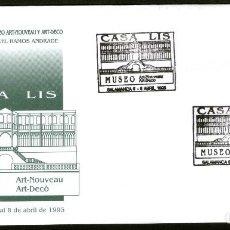 Sellos: SOBRE CONM. MUSEO CASA LIS. SALAMANCA 1.995. Lote 111946135