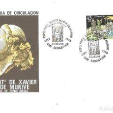 Briefmarken - II Centenario de Xavier Mª de Munive. Conde de Peñaflorida. 1985 - 112020747