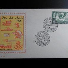 Sellos: SOBRE MATASELLO DIA DEL SELLO 1978. MATASELLO DE BILBAO. . Lote 112160299