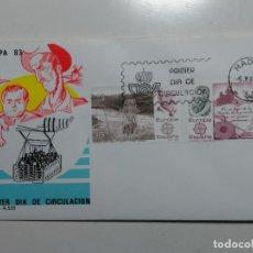 Sellos: SOBRE PRIMER DIA. EUROPA 83. MATASELLO MADRID 1983.. Lote 112236519