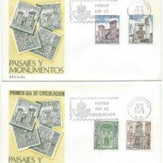 Sellos: 1979. S.P.D./F.D.C. BARCELONA. SERIE PAISAJES Y MONUMENTOS. LANDSCAPES. TURISMO/TOURISM.. Lote 112579027