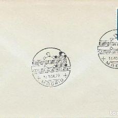 Sellos: 1979. MADRID. MATASELLOS/POSTMARK. EXPO OCIO-FERIA DEL TIEMPO LIBRE. FREE TIME FAIR. TORTUGA/TURTLE.. Lote 113220679