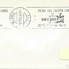 Sellos: 1980. MADRID. RODILLO/SLOGAN. EXPO OCIO-FERIA DEL TIEMPO LIBRE. FREE TIME FAIR. TORTUGA/TURTLE.. Lote 113220727