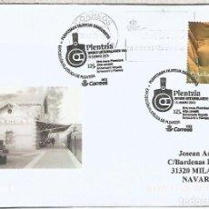 Sellos: PLENTZIA VIZCAYA FERROCARRIL RAILWAY TREN . Lote 113241291