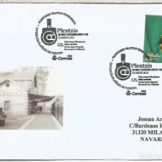 Sellos: PLENTZIA VIZCAYA FERROCARRIL RAILWAY TREN . Lote 113241355