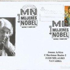 Sellos: MADRID MAT MUJERES NOBEL WINNERS WOMEN. Lote 113241467