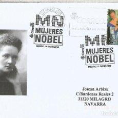 Sellos: MADRID MAT MUJERES NOBEL WINNERS WOMEN . Lote 113241567