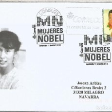 Sellos: MADRID MAT MUJERES NOBEL WINNERS WOMEN . Lote 113241667
