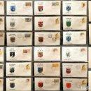 Sellos: COLECCION 31 SOBRES MATASELLOS ESPECIAL ECUDOS HERALDICOS CATALUÑA EDICION LIMITADA. Lote 113913971