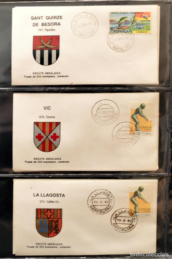 Sellos: COLECCION 31 SOBRES MATASELLOS ESPECIAL ECUDOS HERALDICOS CATALUÑA EDICION LIMITADA - Foto 10 - 113913971