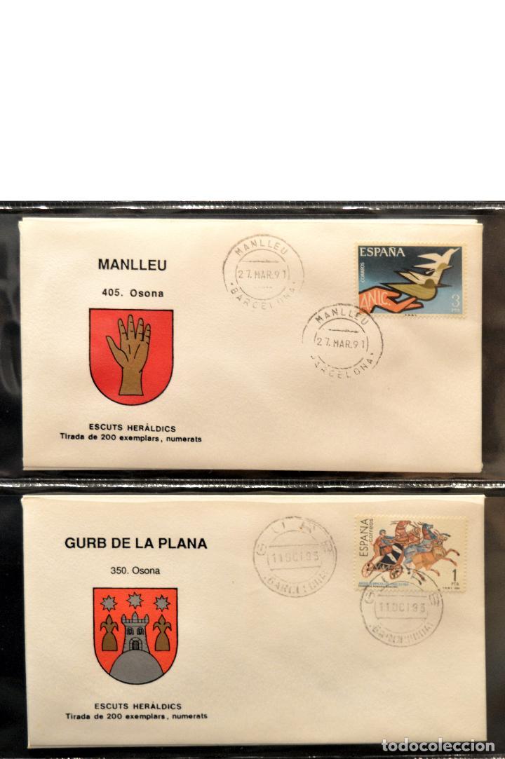 Sellos: COLECCION 31 SOBRES MATASELLOS ESPECIAL ECUDOS HERALDICOS CATALUÑA EDICION LIMITADA - Foto 11 - 113913971