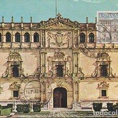 Sellos: EDIFIL 1733, UNIVERSIDAD DE ALCALA DE HENARES, TARJETA MAXIMA DE PRIMER DIA DE 16-5-1966 . Lote 115690188