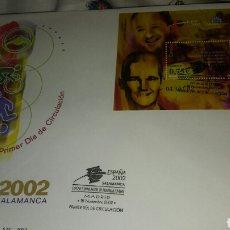 Sellos: SOBRE PRIMER DÍA AÑO 2002 SALAMANCA. Lote 115548460