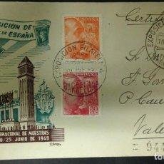 Sellos: FERIA INTERNACIONAL DE MUESTRAS DE BARCELONA 1949. Lote 115633503