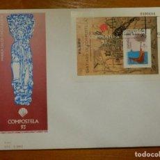 Francobolli: EDIFIL SH 3258 - PRIMER DIA CIRCULACIÓN - 18-5-1993 - SOBRE- S.F.C- A.844/2. Lote 116088991