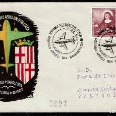 Sellos: PRIMER CORREO AÉREO SIN SOBRETASA. Lote 116120347