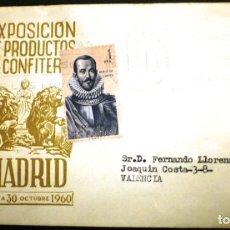 Sellos: EXPOSICION DE PRODUCTOS DE CONFITERIA MADRID 1960. Lote 116141423