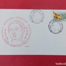 Sellos: SOBRE, COLONIA AUGUSTA GEMELLA TUCCITANA, BIMILENARIO - MATASELLOS MARTOS 1983... R-8779. Lote 116443431