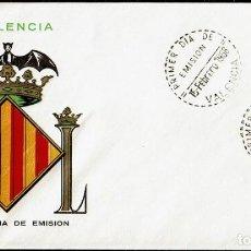 Sellos: ESCUDO DE VALENCIA PRIMER DIA EMISION 1963. Lote 116496567