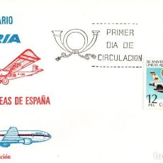 Briefmarken - SPD 1977. BARCELONA. 50 ANIVERSARIO IBERIA - 117123419
