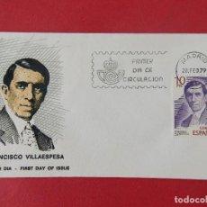 Sellos: SOBRE ALFIL PRIMER DIA - FRANCISCO VILLAESPESA - 1979 - MATASELLOS MADRID - 28 FEB. 79 ....R-8860. Lote 117459467