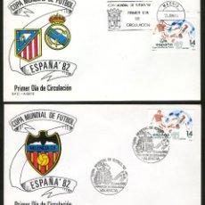 Sellos: 8 SOBRES PRIMER DIA DE CIRCULACION COPA MUNDIAL DE FUTBOL ESPAÑA `82. Lote 117892883
