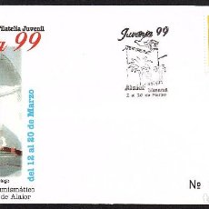 Sellos: SOBRE CONM. JUVENIA 99 - ALAIOR (MENORCA). Lote 118520747