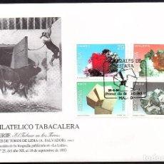 Sellos: SOBRE CONM. CLUB FILATELICO TABACALERA 1.993. Lote 118525683