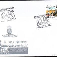 Sellos: SOBRE CONM. CORRESPONDENCIA EPISTOLAR - ARGANDA DEL REY. Lote 118527143