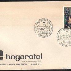 Sellos: SOBRE CONM. HOGAROTEL 1970. Lote 118528523