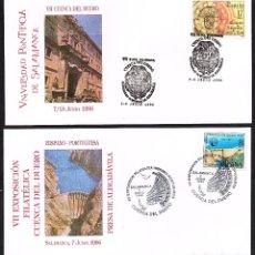 Sellos: 2 SOBRES CONM. VII EXP. FILATELICA CUENCA DEL DUERO SALAMANCA 1.996. Lote 118529419