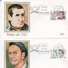 Sellos: PERSONAJES ESPAÑOLES 1978 (EDIFIL 2456/59) EN CUATRO SPD DE MUNDO FILATELICO BARCELONA. RAROS ASI.. Lote 118580703