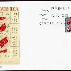 Sellos: SPD ESPAÑA 1969- EDIFIL 1920 : VI CONGRESO EUROPEO DE BIOQUIMICA. Lote 118933283