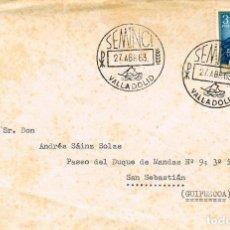 Sellos: AÑO 1963, VALLADOLID, SEMANA DE CINE RELIGIOSO. Lote 118934531