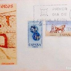 Sellos: SOBRE PRIMER DIA DE CIRCULACIÓN. EDIFIL 1827 A 1829.. Lote 119287711
