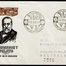 Sellos: ESPAÑA 1954 SPD -EDIFIL 1142 - MARCELINO MENÉNDEZ Y PELAYO. Lote 120311843