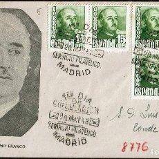 Sellos: ESPAÑA 1948 SPD -EDIFIL 1021 - GENERAL FRANCO. Lote 120343755
