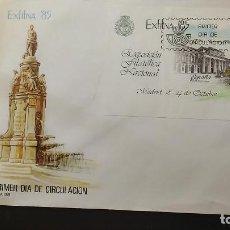 Sellos: SOBRE GRANDE. EXPOSICIÓN FILATÉLICA NACIONAL. EXFILNA 85. OCTUBRE 1985. MADRID. EDIFIL 2814.. Lote 120872419