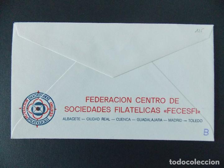 Sellos: SOBRE , 1ª EXPO FILATELICA DE ALCOBENDAS ( MADRID) - ORGANIZA ARAPA - AÑO 1988.. R-9262 - Foto 2 - 121537027