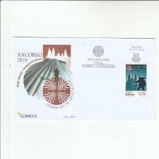 Sellos: SOBRE PRIMER DIA CIRCULACION-EDIFIL 4565-XACOBEO 2010+AÑO SANTO COMPOSTELANO. Lote 121928603