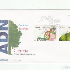 Sellos: SOBRE PRIMER DIA CIRCULACION-EDIFIL 4455/4456-CIENCIA 2009. Lote 122001339