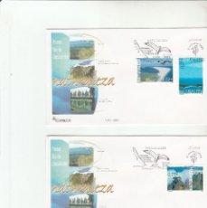 Sellos: SOBRE PRIMER DIA CIRCULACION-EDIFIL 4122/4124-NATURALEZA-2004. Lote 122690995